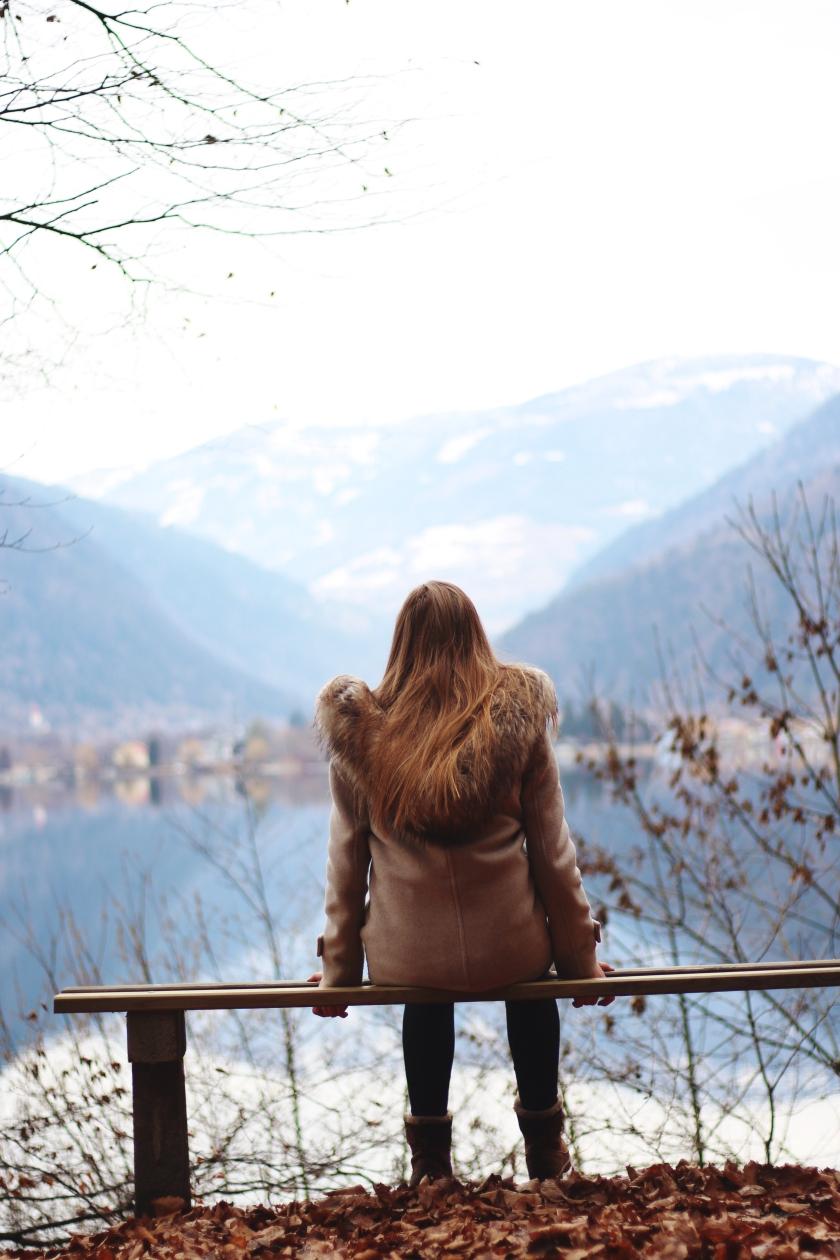 vanillaholica.com Winter See Landschaft Österreich Urlaub Natur